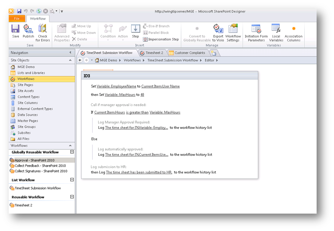 SharePoint Workflows in Three Minutes - Concurrency