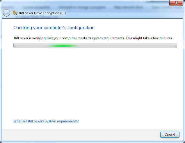 Enable BitLocker, Automatically save Keys to Active