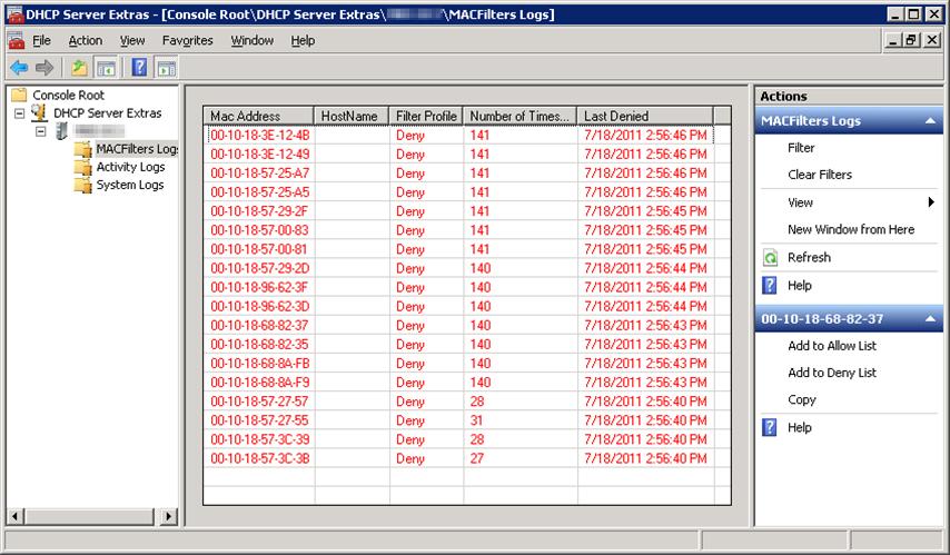 Dhcp сервер для windows 7 скачать