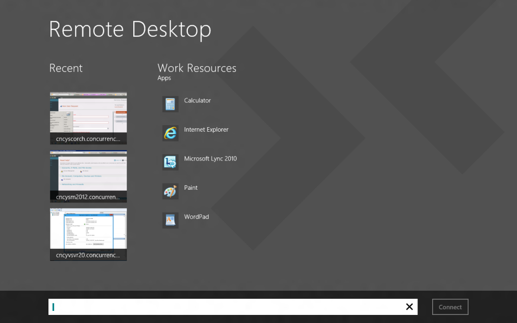 Remote Desktop Services in Windows 8 - Concurrency