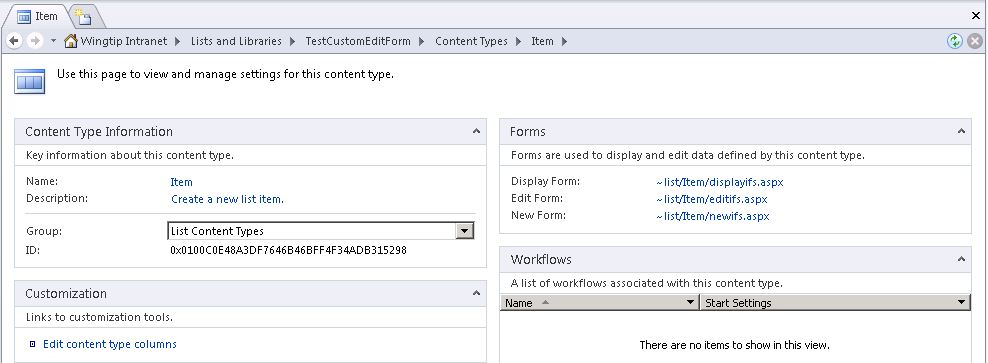 Creating Custom Edit Forms with InfoPath in SharePoint 2010 ...