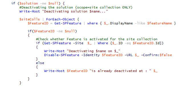 SharePoint 2010 Deploy Scripts with PowerShell - Concurrency