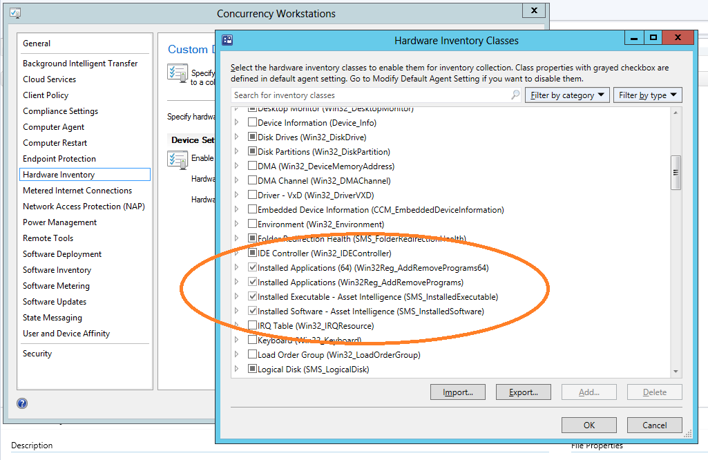 SCCM Inventoried Software Empty: Quick Tip! - Concurrency
