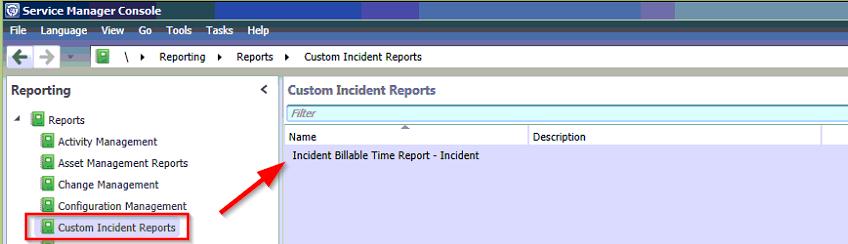 SSRS Incident Billable Time Report Custom Folder image
