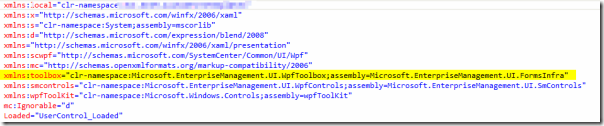 Service Manager Custom Forms namespace image