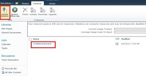 Install CRM 2011 SharePoint List Component