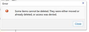 OWA-delete-error