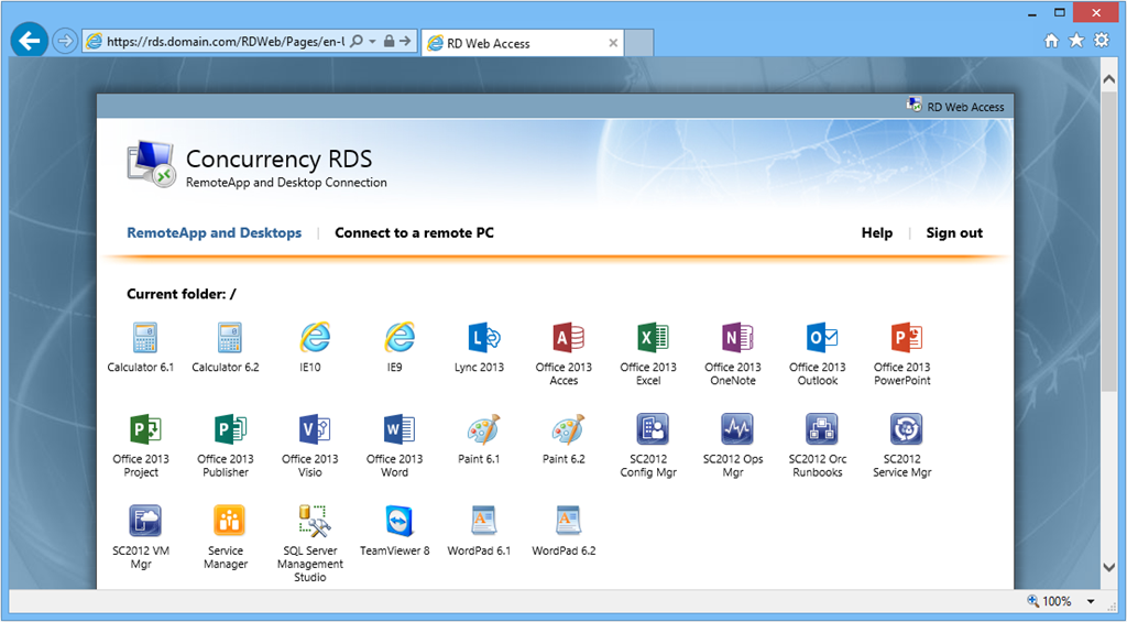 How to deliver RemoteApps from Windows Server 2012 RDS