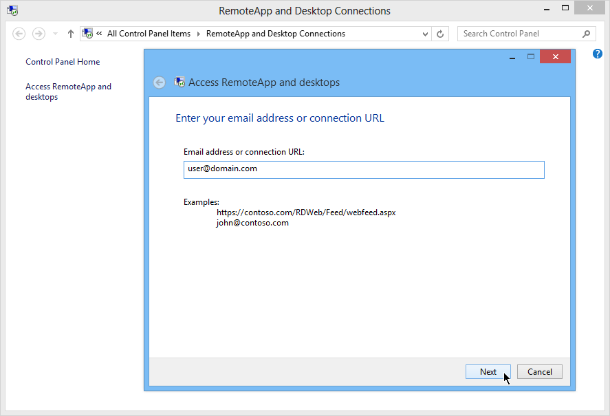 How to deliver RemoteApps from Windows Server 2012 RDS - Concurrency