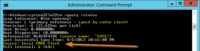Sync Domain Clock with Internet NTP Sources - Concurrency