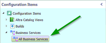 Business Service CI View Image