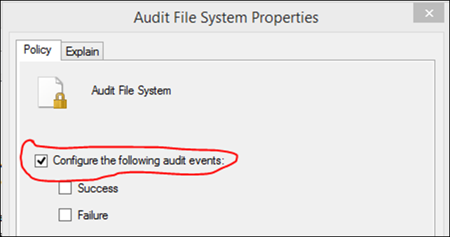 Audit File System