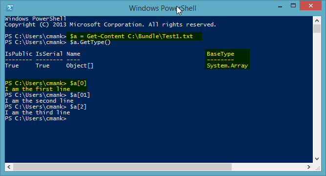 PowerShell Get-Content Example Image