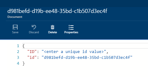 Using existing data models with Azure DocumentDB and the